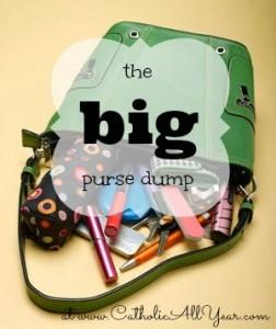 purse dump